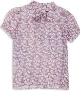 H81 Silk Floral Blouse