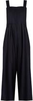 Sea Sleeveless wide-leg wool jumpsuit