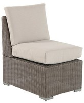 Threshold Heatherstone Wicker Patio Sectional Armless Chair