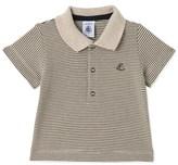 Petit Bateau Baby boys milleraies-striped polo shirt