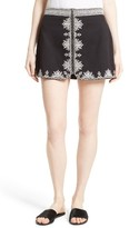 Joie Women's Genovefa Embroidered Skirt