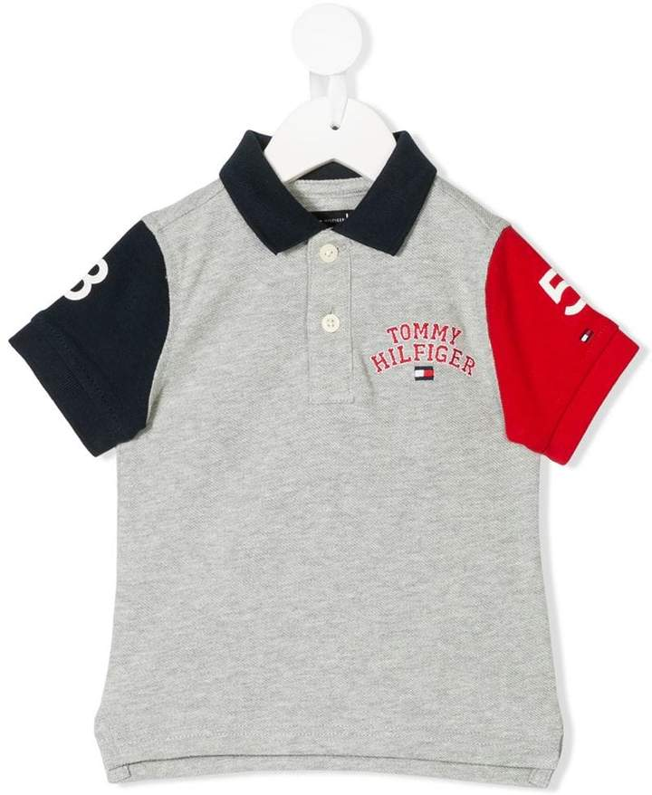 Tommy Hilfiger Junior colour block polo top