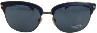 Burberry Blue Metal Sunglasses