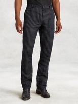 John Varvatos Linen Stripe Motor City Jean