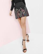 Ted Baker Treasured Trinkets A-line skirt