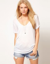 Asos The Forever T-Shirt In Soft Touch