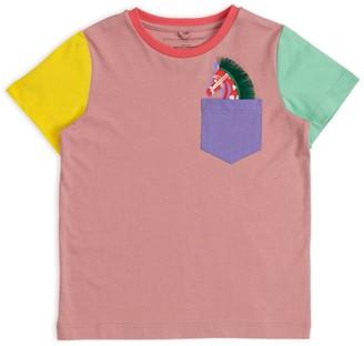 Stella Mccartney Kids Horse Pocket T-Shirt (2-14+ Years)