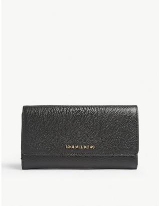 MICHAEL Michael Kors Mercer leather tri-fold wallet