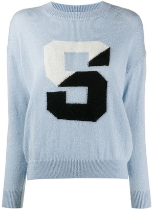 Sandro Paris S print jumper