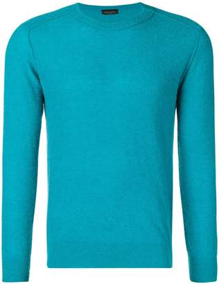 Roberto Collina fitted knitted sweater