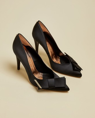 Ted Baker Satin Bow Detail Court Shoes