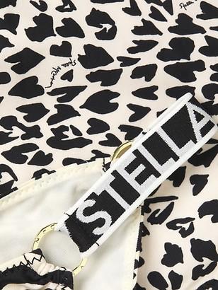 Stella McCartney Swim Zebra-Print Low-Rise Bikini Bottom