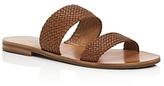 Frye Ruth Woven Slide Sandals