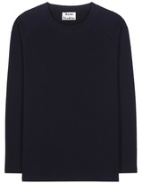 Acne Studios Cassie Cotton-blend Sweatshirt