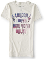 Aeropostale Free State Lightning Location Graphic T