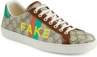 Gucci Ace Fake/Not Fake GG Supreme Sneaker