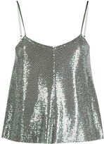 Thumbnail for your product : Forte Forte Metallic Paillettes Cami Top