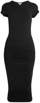 James Perse Skinny T-Shirt Dress