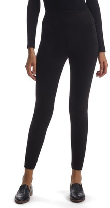 Commando High-Rise Faux Suede Leggings