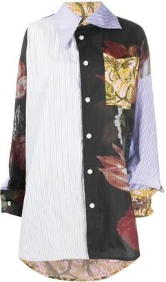 Vivienne Westwood Patchwork Oversize Shirt