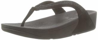 FitFlop Womens C29-054 Flip Flop Black Size: 7 UK