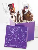 Mrs. Prindables Mrs. Prindable's Chocolate Caramel Apple Gift Box- Set of Four