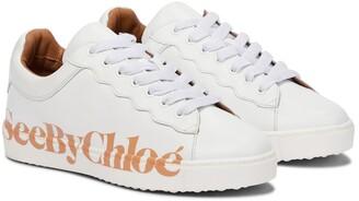 See by Chloe Essie leather sneakers