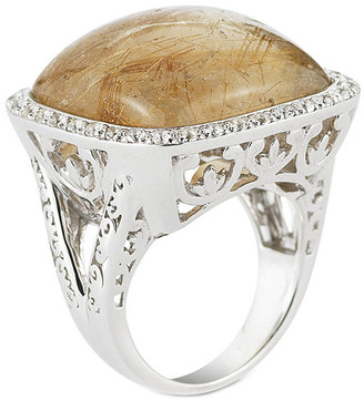 Delatori By Alor Silver 43.00 Ct. Tw. Gemstone Ring
