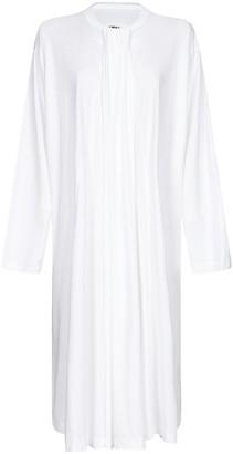 MM6 MAISON MARGIELA Pleated Long-Sleeve Dress