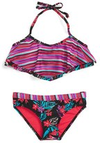 Roxy Girl's 'Pop Trop' Two-Piece Swimsuit