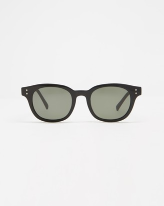 Le Specs Black Square - Hermetica - Size One Size at The Iconic
