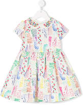 Simonetta patterned dress