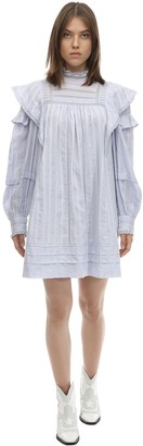 Etoile Isabel Marant PATSY RUFFLED COTTON DRESS