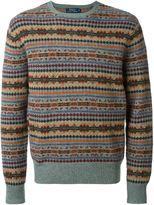 Polo Ralph Lauren intarsia knit sweater