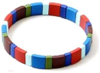 Lego Lets Accessorize Multicolor Bracelets