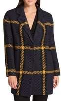 Donna Karan Novelty Notch Coat