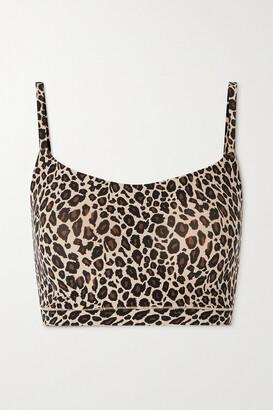 Chantelle - Leopard-print Stretch-jersey Bralette - Animal print