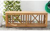 Safavieh Outdoor Branco Teak Bench