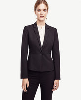 Ann Taylor Petite All-Season Stretch One Button Jacket