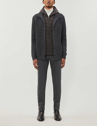 Reiss Carlos knitted cardigan
