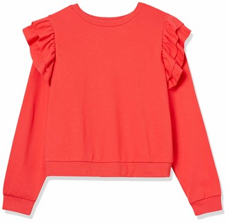 Forever 21 Women's Plus Size Ruffled Sweatshirt