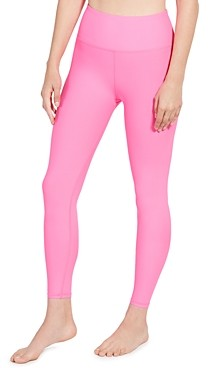 Aqua Athletic Pink Punch Knit Leggings - 100% Exclusive