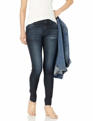Democracy Women's Ab Solution Jegging Indigo 4