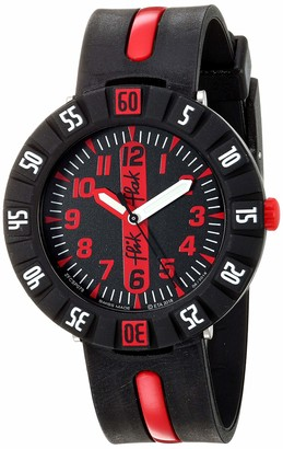Flik Flak Boys Analogue Quartz Watch with Plastic Strap FCSP079