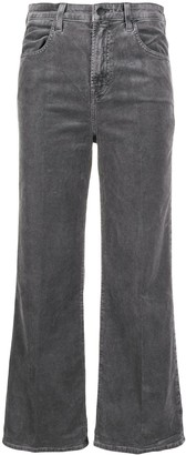 J Brand high-rise straight jeans
