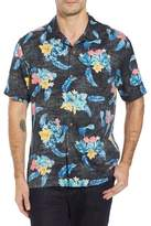 Tommy Bahama Salt Water Blooms Silk Sport Shirt