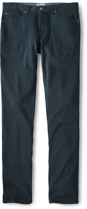 Peter Millar Men's Slim Cotton-Modal Dark-Wash Pants