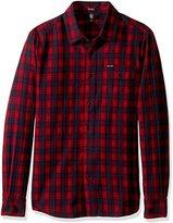 Volcom Men's Fulton Long Sleeve Flannel Shirt