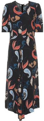 See by Chloe Printed midi dress