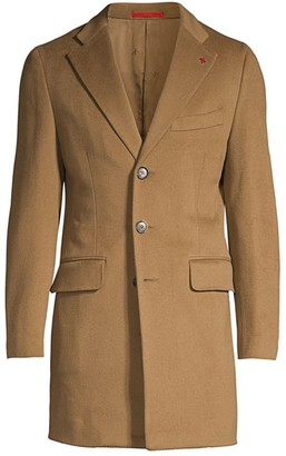 Isaia Colorado Classic-Fit Wool Topcoat